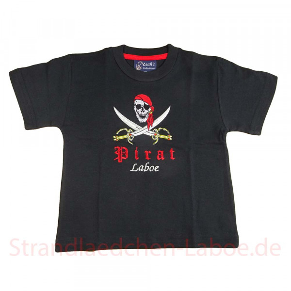 T-Shirt Kinder Pirat Laboe