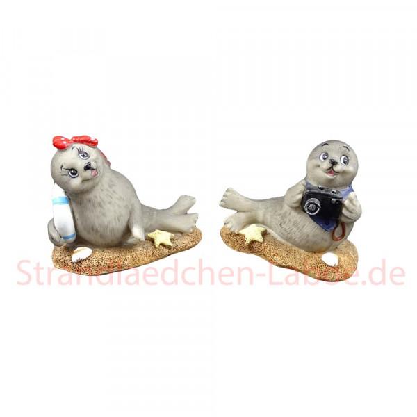 Seehund mit Halstuch oder Schleife