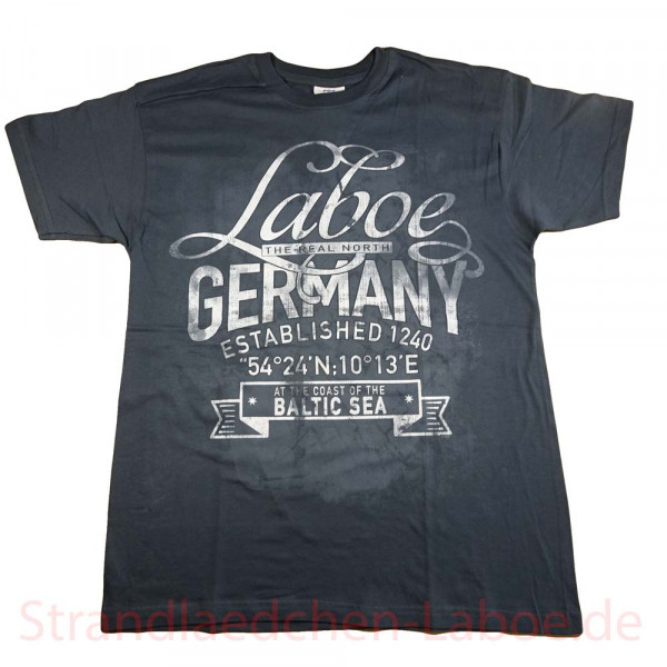T-Shirt Laboe grau