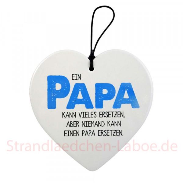 Keramikherz Papa