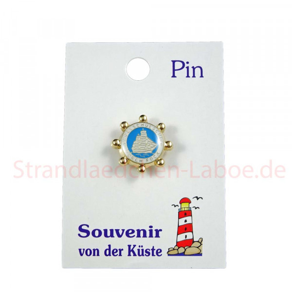 Pin Gorch Fock Steuerrad