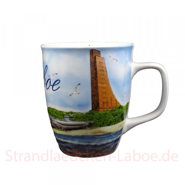 Becher Laboe Aquarell
