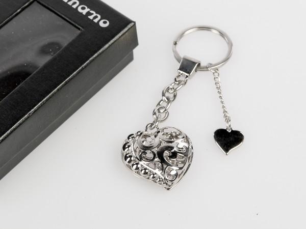Schlüsselanhänger Herz Ornament