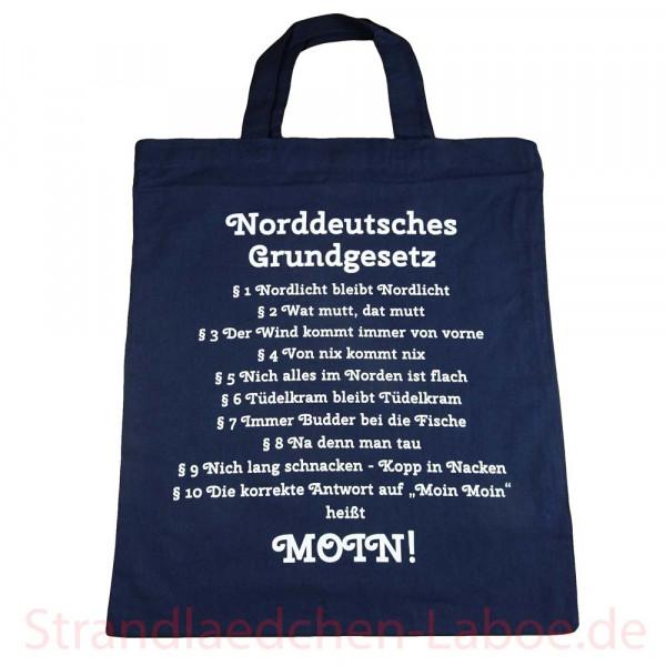 Stoffbeutel Norddeutsches Grundgesetz