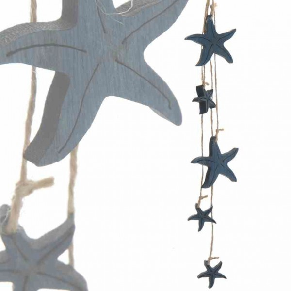 Hänger 5er Seesterne dunkelblau