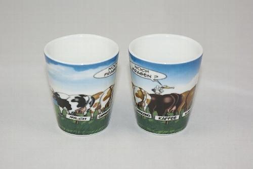Eierbecher Hösti Kühe