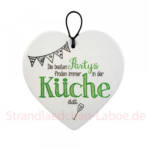Keramikherz Küche