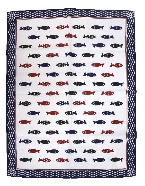 Geschirrtuch kleine Fische