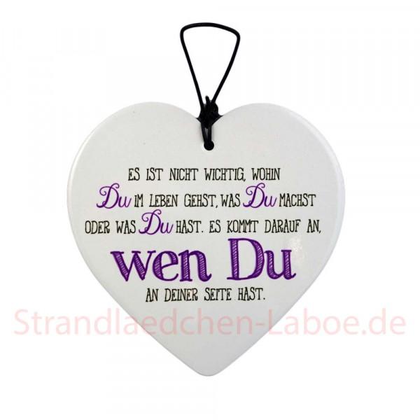 Keramikherz Wen Du